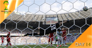 World Cup Watch: Day 14 live on BBC & ITV