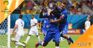 World Cup Watch: Day 9 live on BBC & ITV