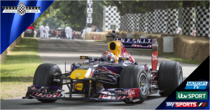 Goodwood Festival of Speed 2014 on Sky Sports F1, ITV & Motors TV