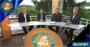 ITV Sport retains French Open rights to 2018