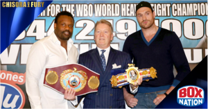 Chisora v Fury II rescheduled for November 22 live on BoxNation