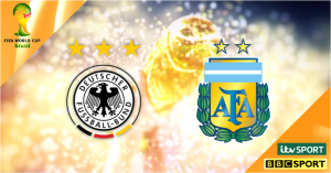 FIFA World Cup Final 2014: Germany v Argentina live on BBC & ITV