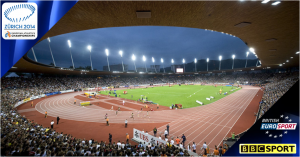 European Athletics Championships 2014 on BBC & Eurosport