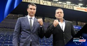 British Eurosport to show Wladimir Klitschko v Kubrat Pulev
