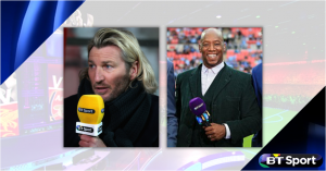 BT Sport signs up Ian Wright and Robbie Savage
