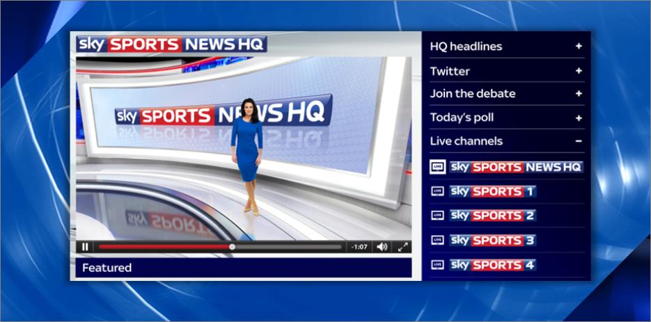 Sky Sports revamps online offerings for new football season