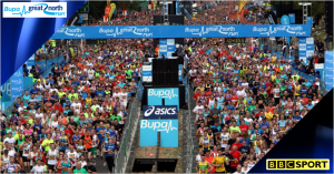 Bupa Great North Run 2014 live on BBC One
