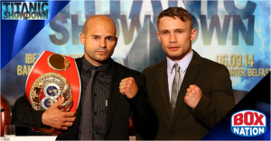 Kiko Martinez v Carl Frampton live on BoxNation