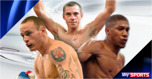 Sky Sports announces 2014 autumn Fight Night schedule