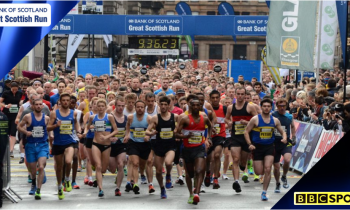 Great Scottish Run 2014 live on BBC Two