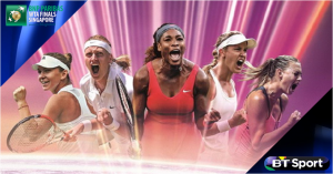 WTA Finals 2014 exclusively live on BT Sport