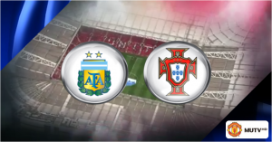 Argentina v Portugal friendly to be shown live on MUTV