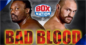 Bad Blood: Chisora v Fury live on BoxNation