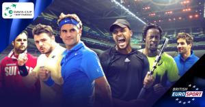 Davis Cup Final 2014 live on British Eurosport