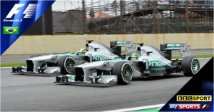Brazilian Grand Prix 2014 live on Sky Sports F1
