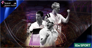 Statoil Masters Tennis 2014 live on ITV4