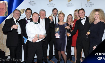 Channel 4 Racing team celebrate industry awards
