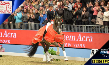 Olympia Horse Show 2014 live on BBC & Eurosport