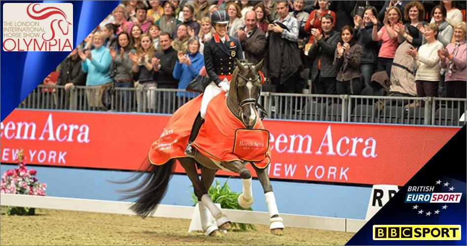 Olympia Horse Show 2014 Live On Bbc Amp Eurosport Sport On
