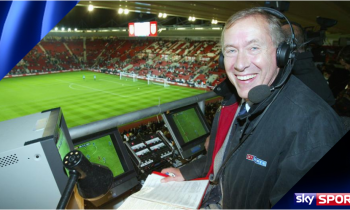 Martin Tyler celebrates 40 years of commentary