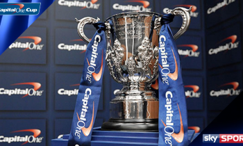 Sky confirms live Capital One Cup 2nd Round ties