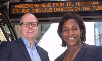 ITV and TfL team up to take RWC 2015 underground