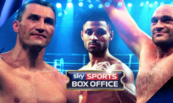 Klitschko v Fury live on Sky Sports Box Office