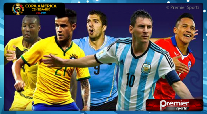 Premier Sports secures 2016 Copa America rights