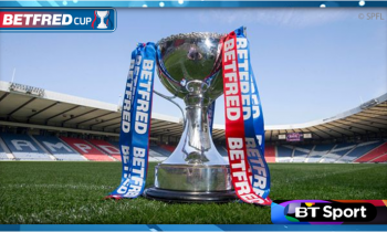 BT Sport confirms opening live Betfred Cup games
