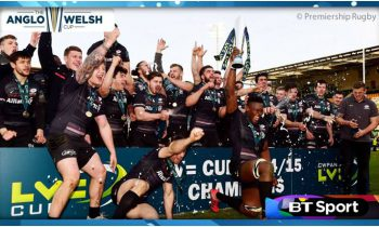 BT Sport takes over Anglo-Welsh Cup rights