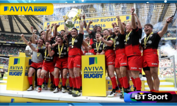 BT Sport confirms first set of live Aviva Premiership games