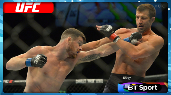 BT Sport renews exclusive UFC rights deal