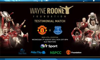 BT Sport to televise Wayne Rooney's testimonial