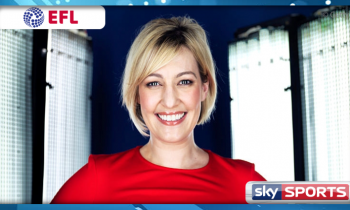 Kelly Cates returns to Sky Sports as EFL presenter