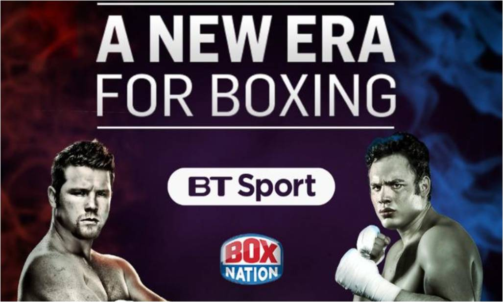 BoxNation now available to BT Sport pack subscribers
