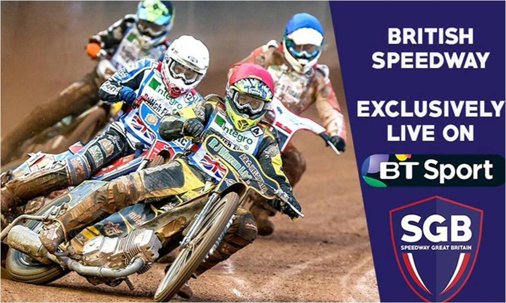 British Speedway moves to BT Sport for 2017 season