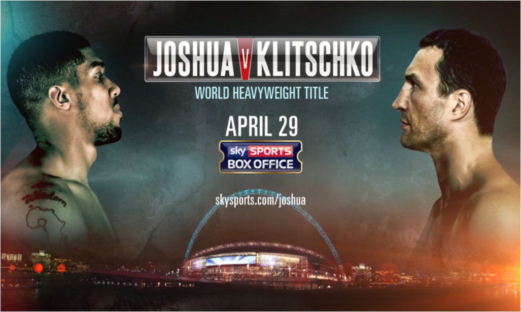 Joshua v Klitschko live on Sky Sports Box Office