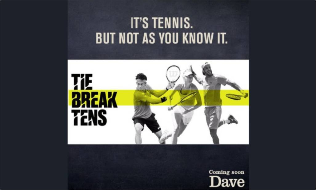 Dave to serve up live Tie Break Tens tennis