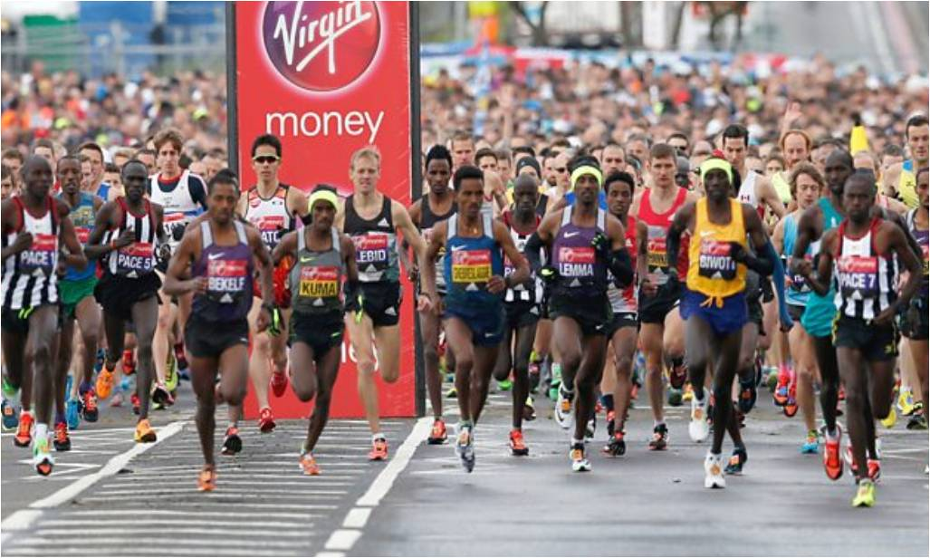 London Marathon 2017 live on the BBC
