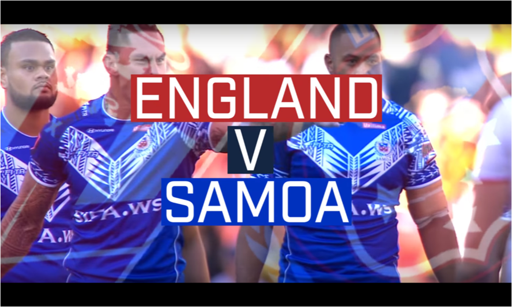 England v Samoa to be streamed live on RFL website