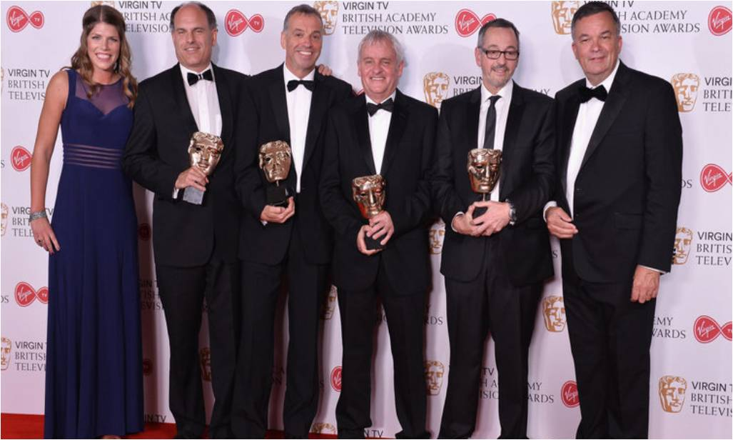 Sky Sports coverage of The Open wins BAFTA award