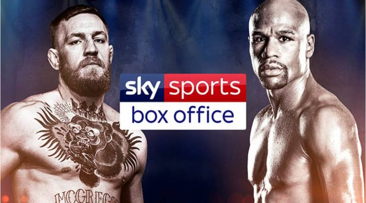 Sky Sports Box Office to show Mayweather v McGregor