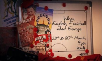 ITV4 to look back at When English Football Ruled Europe
