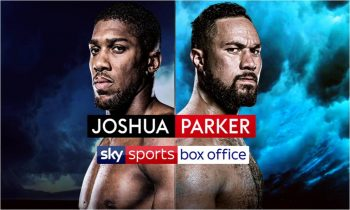 Joshua v Parker live on Sky Sports Box Office