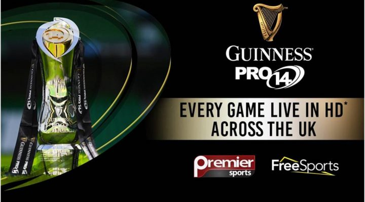 Premier Sports & FreeSports win live Guinness PRO14 rights