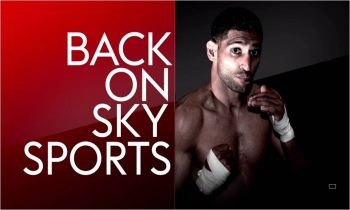 Amir Khan v Phil Lo Greco live on Sky Sports
