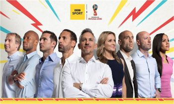 BBC reveals on-air line-up for 2018 FIFA World Cup
