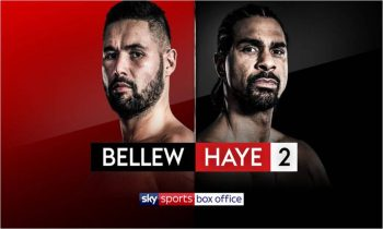 Bellew v Haye 2 live on Sky Sports Box Office