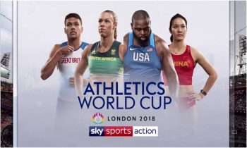 Sky Sports to screen inaugural Athletics World Cup