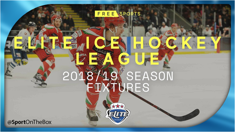 free sports confirms live elite ice hockey league games sport on